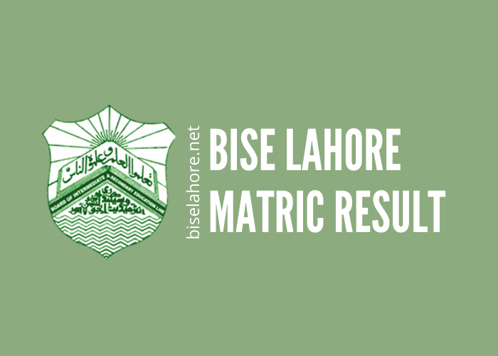 bise lahore matric result