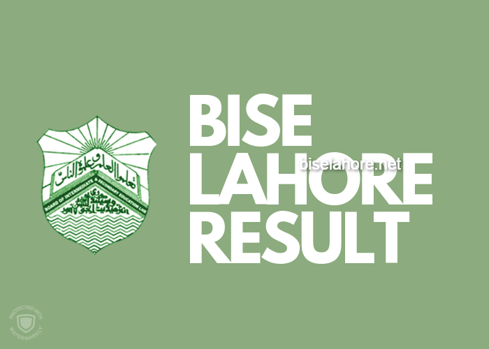 BISE LAHORE RESULT 2019
