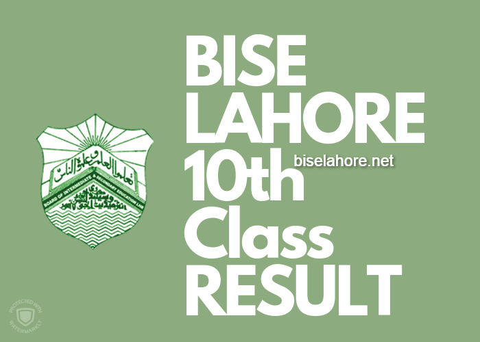 BISE Lahore 10th Class Result 2019 | Matric Result Lahore Board