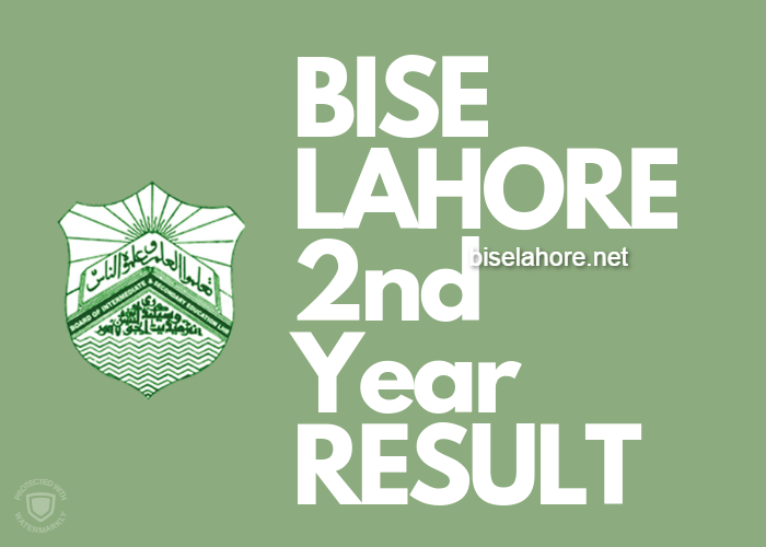 BISE Lahore 2nd Year Result 2019